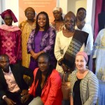 Academics, NGOs, activists: all engaged towards useful and accessible knowledge  From left to right, from top to bottom : Fatou Diop Sall, coordinator of Groupe d'Études et de Recherche Genre et Sociétés (GESTES) (Sénégal), Fatou DIOUF, UCAD COFULEF (Convergence des Femmes Universitaires pour le Leadership Féminin) (Sénégal) Coura Kane Niang, tutor in literature at UCAD and president of COFULEF (Sénégal) Françoise Mukuku, web-editor of Observ'action, Genre en Action (RDC) Arame Top, coordinator of Regional Gender Observatory of Matam (Sénégal) Diagne Oulimata, Centre National de Documentation Scientifique (Sénégal) Binta Barry, Dfil student on the SOHA project (Sénégal) Ousmane Niang, Dfil student GESTES (Sénégal) Dieyi Diouf, tutor-researcher at EBAD (UCAD) and co-researcher of the project SOHA (Sénégal) Diabel Ndiaye, Dfil student GESTES (Sénégal) Fatou Dior Dieng, Dfil student GESTES (Sénégal) Lorie Decung, activist Genre en Action (France)